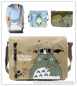 Image Is Loading Totoro Bag Birthday Gift My Neighbor Canvas Shoulder