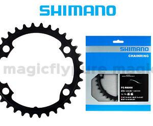 34T-Shimano-Ultegra-FC-R8000-Inner-Chainrings-110mm-BCD-BLACK-NIB-New