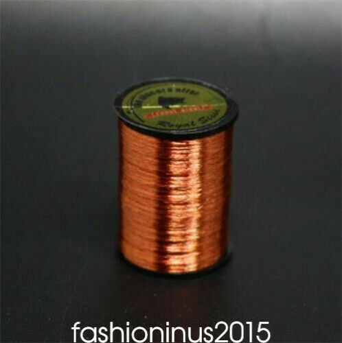 1 Color SALTWATER//TROUT//BASS//SALMON Fly Tying Materials Tinsel Floss Wire Thread
