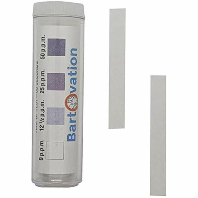 Vial of 50 0-100ppm Eisco Labs Low Level Peroxide Test Strips