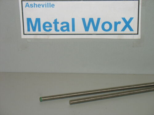 "5//16/"" 18  Threaded Rod  Stainless Steel 18-8  304  4 Pcs  24/"" Long"
