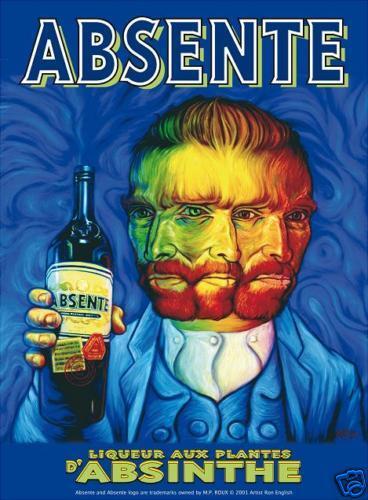 Van Gogh et l'absente