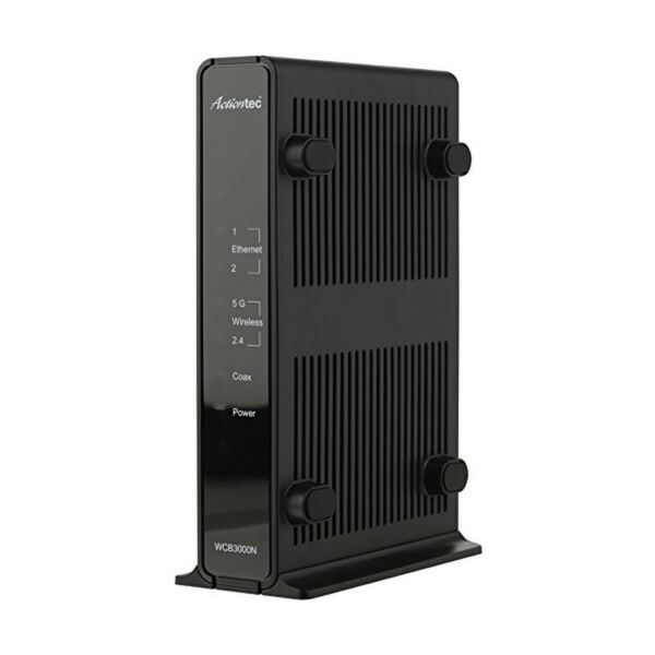 Actiontec Single Dual-band Wireless Network Extender And Ethernet Over Coax A...