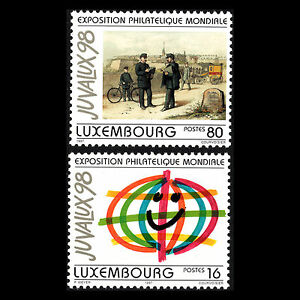 Luxembourg-1997-World-Philatelic-Exhibition-JUVALUX-039-98-Art-Sc-970-1-MNH