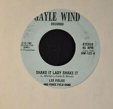 HEAR IT SOUL Lee Fields And Force Field Band Gayle Wind 122 Shake It Lady