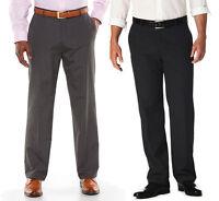 Men's Haggar 1926 Originals Straight-fit Flat-front Dress Pants Msrp $70