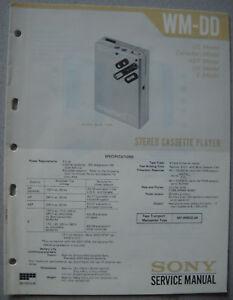 SONY-WM-DD-Service-Manual