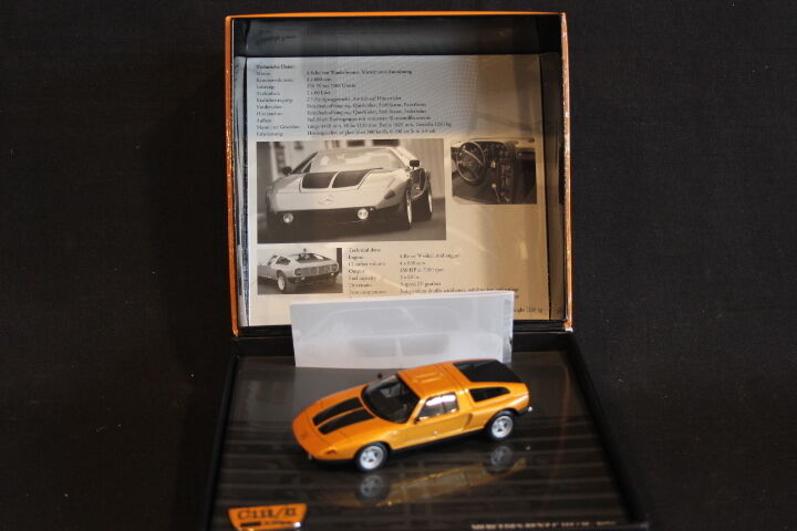 Minichamps Mercedes-Benz C111   ll 1970 1 43 orange   9.999 pcs (JS)
