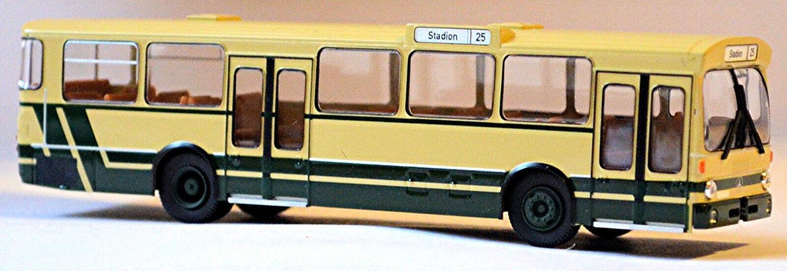 mejor marca Mercedes-Benz O305 Estado Autobús de la la la Línea Voev Beige verde 1 87 Brekina  costo real