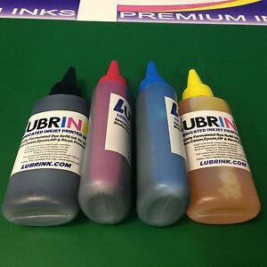 4x 100ml Lubrink Printer Refill Ink Bottles HP Deskjet ...