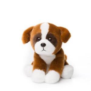 Anna-Club-Stuffed-Toy-Boxer-Dog-15cm-Lifelike-Animal-New