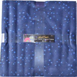 "AQUATIC 10"" Square Bundle from Clothworks - 42 10"" fabric square pack - #TSQ0160"