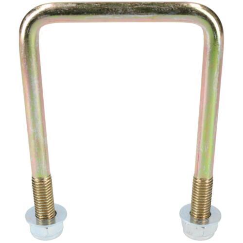 2 paquete M10 70mm X 100mm U-Bolt N-Bolt Para Remolques Con Tuercas de alta resistencia a la tracción