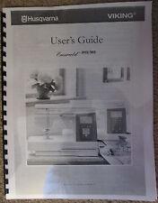 Husqvarna Viking Emerald 183 203 Owners Users Operators Guide Manual Book