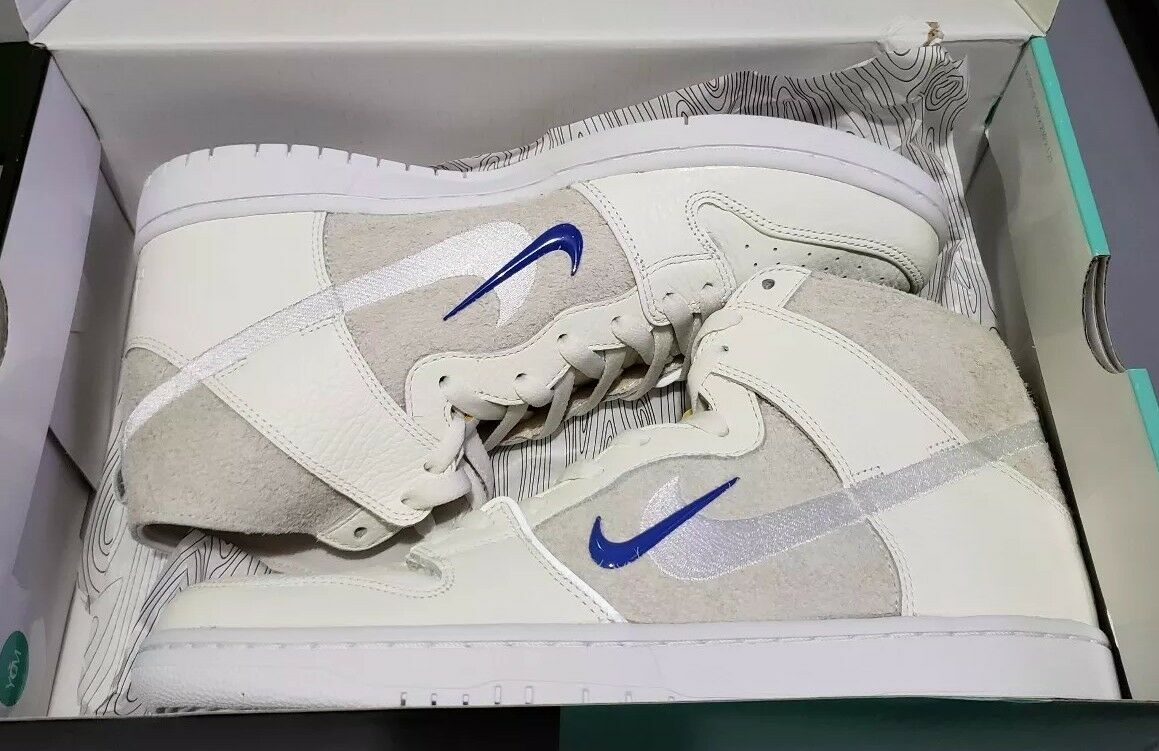Nike SB Zoom Dunk High Pro QS SoulLand FRI.day AH9613-141 Men's size 11.5 US