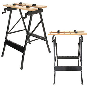 Incredible Details About New Foldable Workbench Portable Work Clamping Folding Worktop Table Uk Camellatalisay Diy Chair Ideas Camellatalisaycom