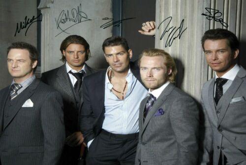 Boyzone Signed Autograph PRINT 6x4/' 10x15cm