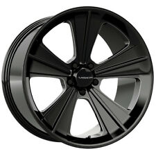 4 Vision V327 Missile 20x9 5x45 32mm Blackmilled Wheels Rims 20 Inch Fits 2011 Toyota Camry