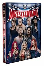 WWE Wrestlemania 32 Limited Edition Steelbook [Blu-ray] XXXII  2016 *NEU*