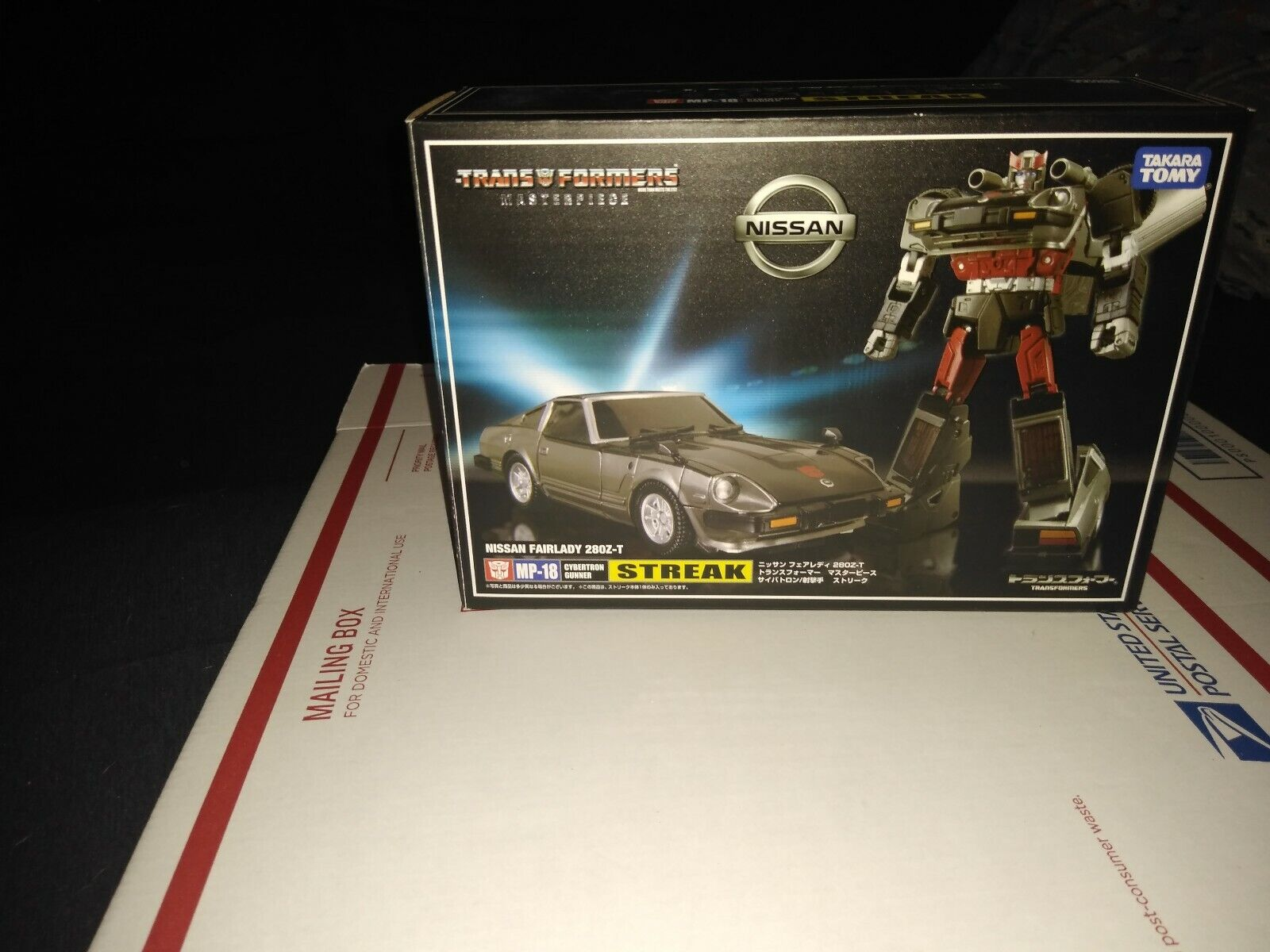 Transformers MP 18 Masterpiece Streak with scatola Takara Authentic