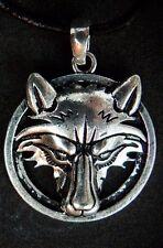 Wolf Animal Spirit Pendant, Viking, Celtic, Native American Symbol, USA Seller!