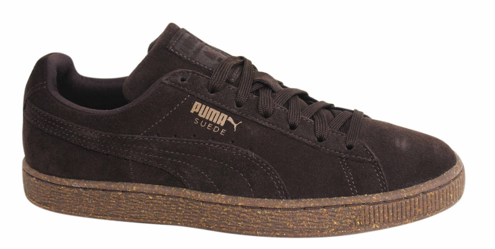 Puma Suede Classic IC Lace Up Uomo Chocolate D44 Brown Trainers 362099 03 D44 Chocolate d309a4