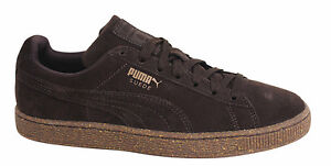 3475efc79b0 Puma Suede Classic IC Lace Up Mens Chocolate Brown Trainers 362099 ...