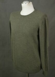 TOD-039-S-Mens-100-VIRGIN-WOOL-Crew-Neck-JUMPER-Size-S-Small-Made-in-Italy