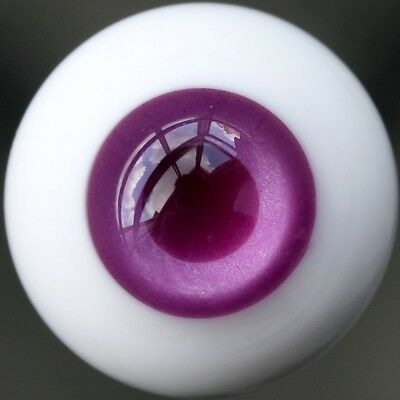 [wamami] ET51# 16mm Purple & Red EYES For BJD Doll Dollfie Glass Eyes Outfit