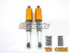 Honda CT70 Rear Shock Set Candy Gold 1969 1994 Heavy Duty Springs For Adults New