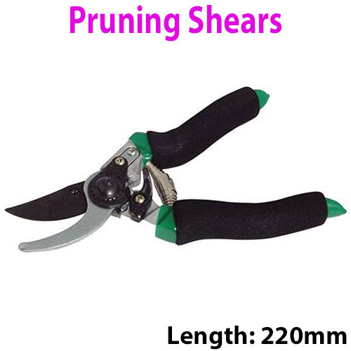 330mm Topiary Shears–Garden Bush//Branch//Twig Cutting Tool–Allotment Plant Cutter
