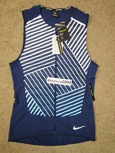 76edacfc7a82 NWT Nike Aeroloft Flash Running Vest Sz Small 100% Auth. 859208 429 ...