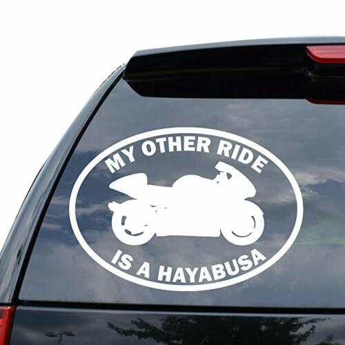 MY OTHER RIDE SUZUKI HAYABUSA MOTORCYCLE MOTORBIKE Decal Sticker Car Truck Motor
