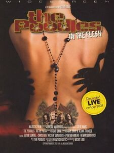 The-Poodles-In-The-Flesh-DVD-Digipak-2010-Recorded-Live-2009-NEW