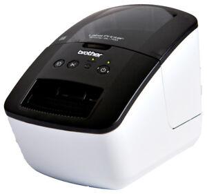 Brother-P-touch-QL-700-Etikettendrucker-300-dpi-Bis-zu-150-mm-Sekunde-NEU-OVP