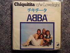 ABBA - Chiquitita 7'' Single JAPAN
