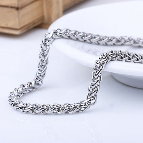 """3//5//6//8mm 20/""""-30/"""" SILVER STAINLESS STEEL BALL CHAIN NECKLACE USA SELLER"""