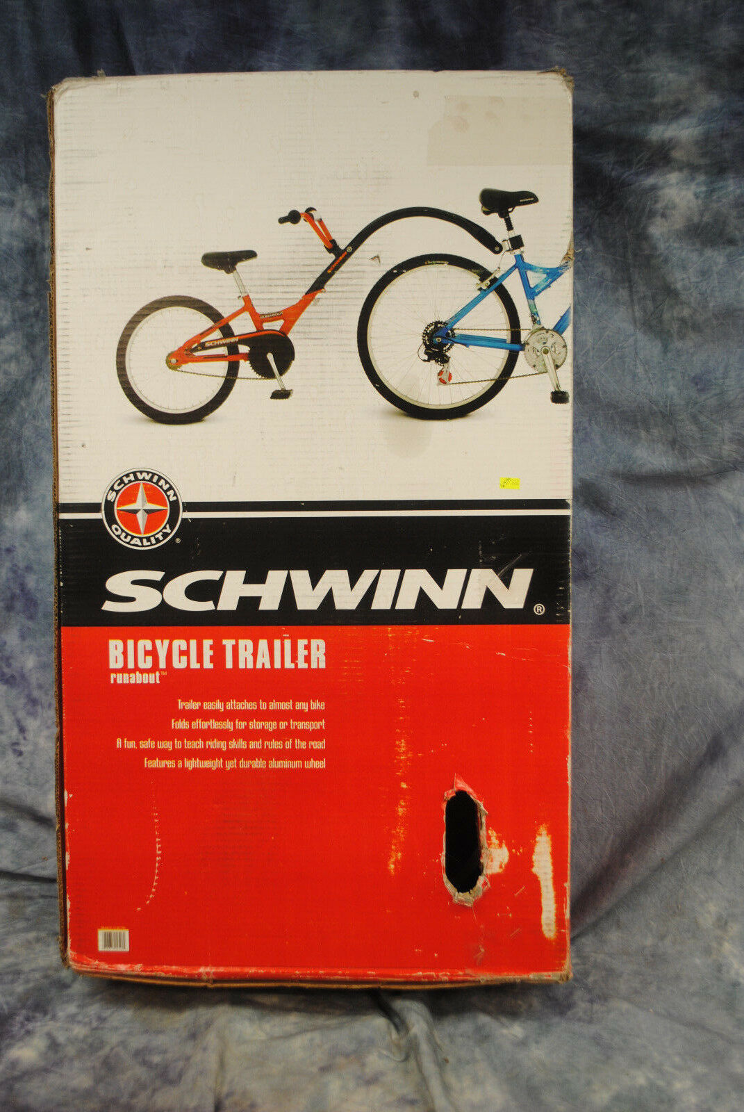 Schwinn bicycle trailer runabout 13-SC250 NEW+NEW+NEW