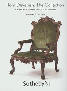 Sotheby S Imp English Furniture Devenish Mahogany Large Auction Catalog 2008 Ebay