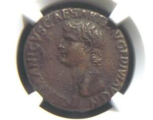 AE-As-of-Roman-General-Germanicus-Large-SC-reverse-19-AD-NGC-XF-1014