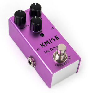 Kmise-Distortion-Pedal-Mini-Single-for-Electric-Guitar-US-Dream-DC9V-True-Bypass