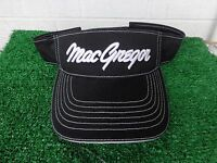 Macgregor Golf Mac Tec Black And White Adjustable Low Profile Golf Visor