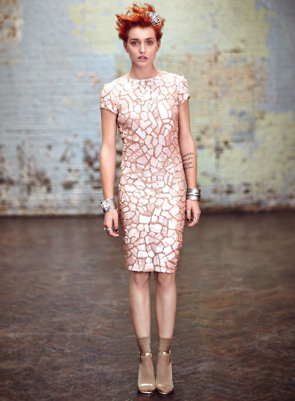 Miss selfridge sassy sequin bodycon dress size 6 bnwt rrp .00