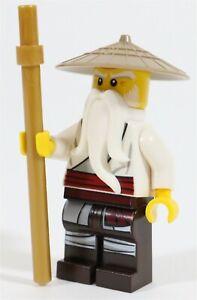 NEUF-LEGO-NINJAGO-Master-Wu-figurine-fait-de-Lego-pieces