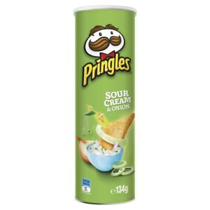 Pringles Sour Cream & Onion Potato Chips 134g