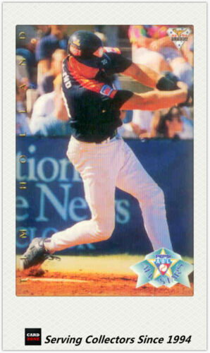 1994 Futera Australia Baseball Card Regular All Stars Card #123 Tim Holland