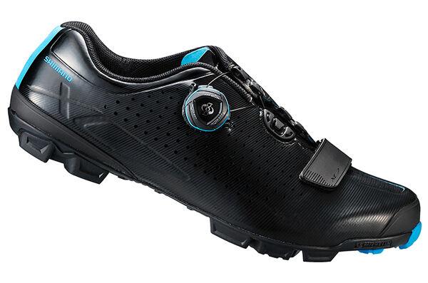 Shimano SH-XC7 Kohlenstoff MTB Boa Mountainbike Schuhe Schwarz 41 (Us 7.6)