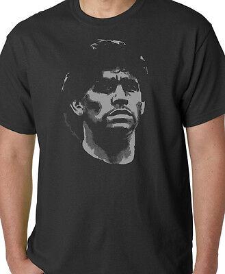 Réalité Diego Maradona Football FCB Imprimé Ash T-shirt gris tee