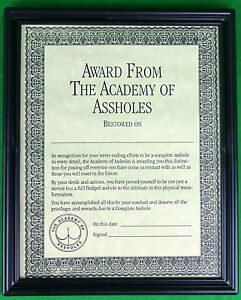 Academy-of-Ass-Holes-Award-Framed-Plaque-Adult-Only