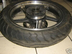 Cerchio-Ruota-Posteriore-3-5x18-Pollici-Pneumatici-Kawasaki-ZR-550-Zefiro-Bordo